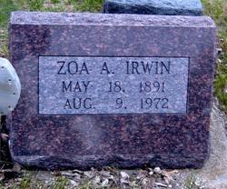 Zoa Adeline <i>Richards</i> Irwin