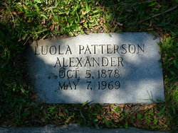 Maggie Luola <i>Patterson</i> Alexander