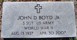 John D. Buck Boyd, Jr