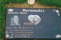 Annette Marie <i>Balderrama</i> Hernandez