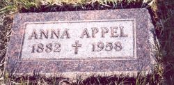 Anna <i>Jacoby</i> Appel
