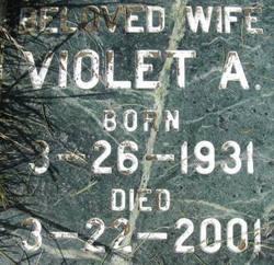 Violet Arlene <i>Binford</i> Ackley