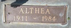 Althea <i>Haws</i> Erickson