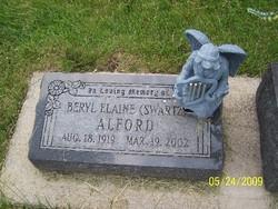 Beryl Elaine <i>Swartz</i> Alford