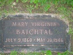Mary Virginia <i>Blinderback</i> Baichtal