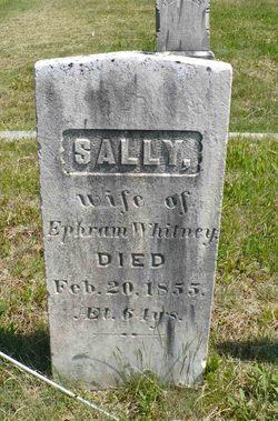 Sally Whitney