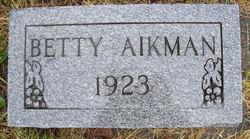 Betty Aikman