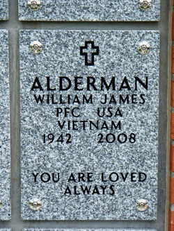 PFC William James Alderman