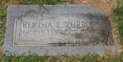 Bertha E Zurborg