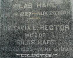 Octavia E. <i>Rector</i> Hare