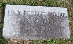 Lucy <i>Pettitt</i> Moore