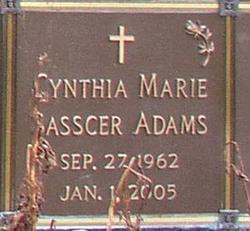 Cynthia Marie <i>Sasscer</i> Adams