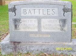 Margarette Elizabeth <i>Hagler</i> Battles
