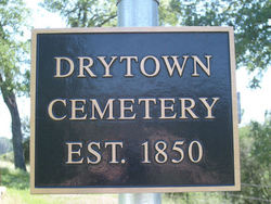 Drytown City Cemetery