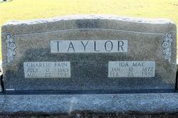 Charles Fain TAYLOR