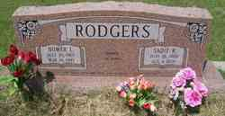 Sadie Ruth <i>Hooper</i> Rodgers