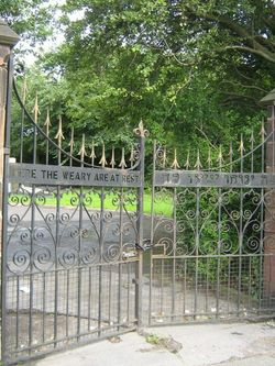 Kirkdale Jewish Cemetery