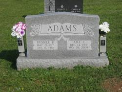 Ada F. <i>Dubbs</i> Adams