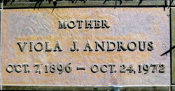 Viola Jane <i>Milligan</i> Androus