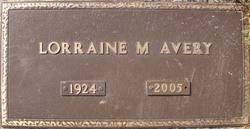 Lorraine Marie <i>Smeton</i> Avery