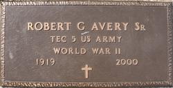 Robert Gilbert Avery, Sr