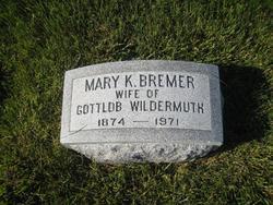Mary Katherine <i>Bremer</i> Wildermuth