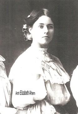 Anna Elizabeth <i>Sullivan</i> Ahern