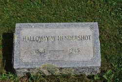 Halloway Whitfield Hal Hendershot