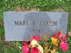 Mary Mamie <i>Steward</i> Allen