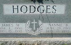 Nannie Bob <i>Hodges</i> Hodges