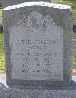 Hettie <i>Hobgood</i> Moore