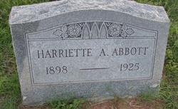 Harriette Ann <i>Armstrong</i> Abbott