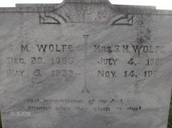 Rebecca Matilda <i>Bullis</i> Wolfe