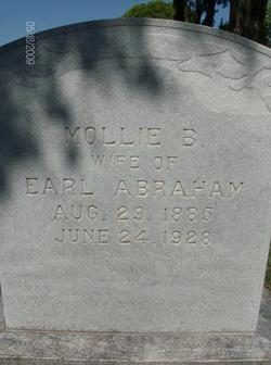Mollie Blanche <i>Blackburn</i> Abraham