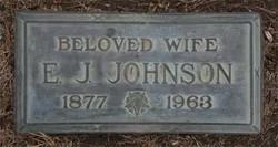 Elizabeth Jane Bessie <i>Thomas</i> Johnson