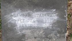 Sam K Blackmon
