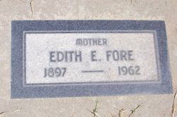 Edith E <i>Fly</i> Fore