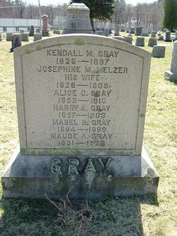 Josephine M <i>Melzer</i> Gray