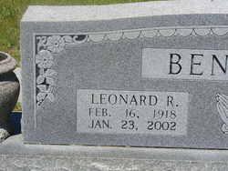 Leonard Royce Benson