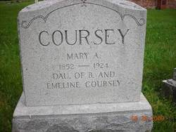 Mary A Coursey