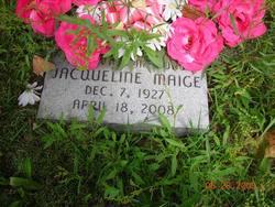 Jacqueline Maige