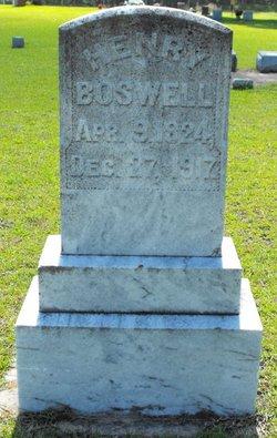 Joseph Henry Boswell