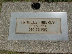 Frances <i>Thorp</i> Awbrey