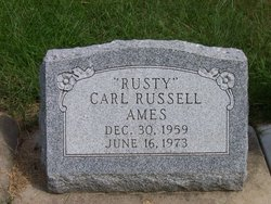 Carl Russell Rusty Ames