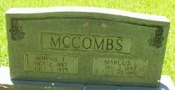 Marcus Lafayette Mark McCombs
