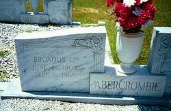 Broadus C Abercrombie