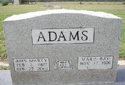 John Robert Sparky Adams