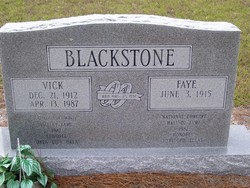 Fayetta June Faye <i>Hudson</i> Blackstone