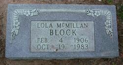 Lola Ester <i>McMillan</i> Block