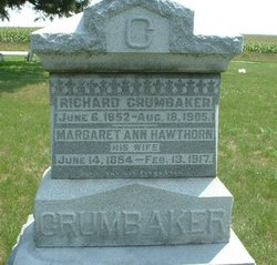 Margaret Ann <i>Hawthorn</i> Crumbaker